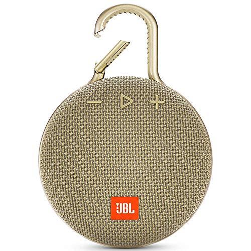 JBL CLIP 3 - Waterproof Portable Bluetooth Speaker - Sand