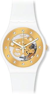 [スウォッチ]SWATCH 腕時計 NEW GENT LACQUERED(ニュージェント ラッカード) SUNRAY GLAM(サンレイ・グラム) SUOZ148 【正規輸入品】