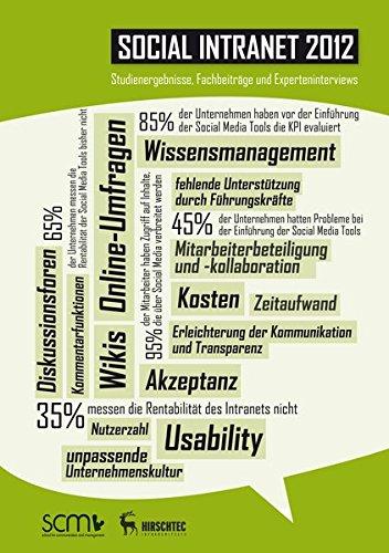 Dörfel, Lars / Hirsch, Lutz (Hg.):Social Intranet 2012: Studienergebnisse, Fachbeiträge und Experteninterviews