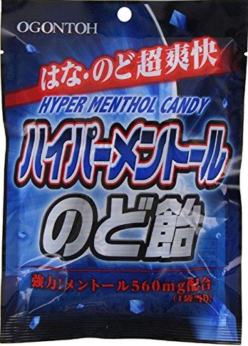 黄金糖 ハイパーメントールのど飴(80g)