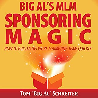 Big Al's MLM Sponsoring Magic audiobook cover art