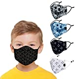 Focus on creating good products that children love. Carefully selected from the cutest and most fashionable designs for children, is a good gift for them in this period. 5 pcs face masks, freely adjustable design, with adjustable ear loops designed t...