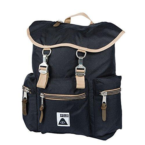 POLeR(ポーラー) Roamers Pack(ローマーズパック) BLACK(ブラック/黒色) [リュックサック/バックパック][鞄/バッグ][メンズ][レディース]
