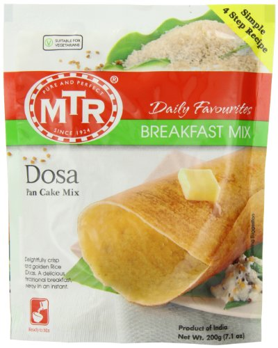 MTR Dosa Pan Cake Mix, 7.1 oz (Pack of 30)
