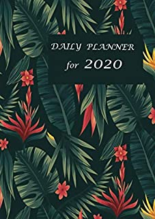 DAILY PLANNER for 2020: Format A4 | 135 pages- allows you to plan 365 days | from January 1, 2020 to December 31, 2020.