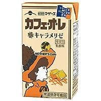 らくのうマザーズ カフェオレキャラメリゼ 250ml紙パック×24本入×(2ケース)