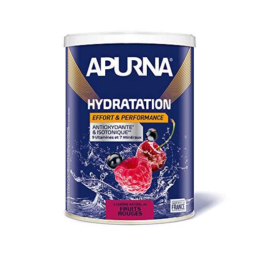 APURNA - BOISSON HYDRATATION FRUITS ROUGES - Energie et hydratation - Pot de 500g