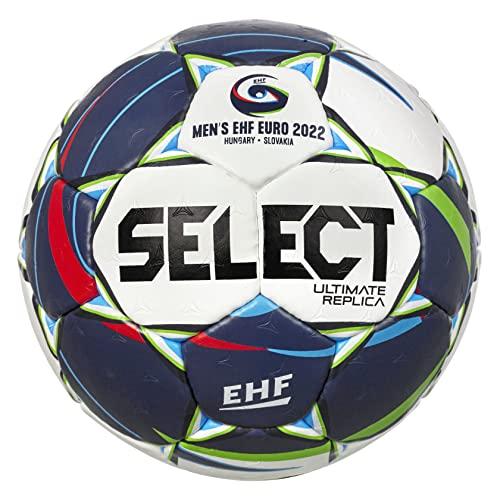 Select Ultimate Replica EHF Euro v22 - Pallone da allenamento con design della palla ufficiale del...