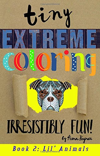 Tiny Extreme Coloring: Lil' Animals