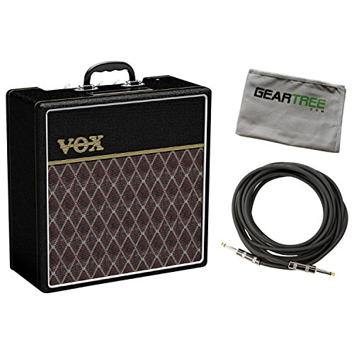 Amazing Deal VOX AC4C112 AC4 1X12 Classic Guitar Combo Amp w/Cable and Geartree Cloth
