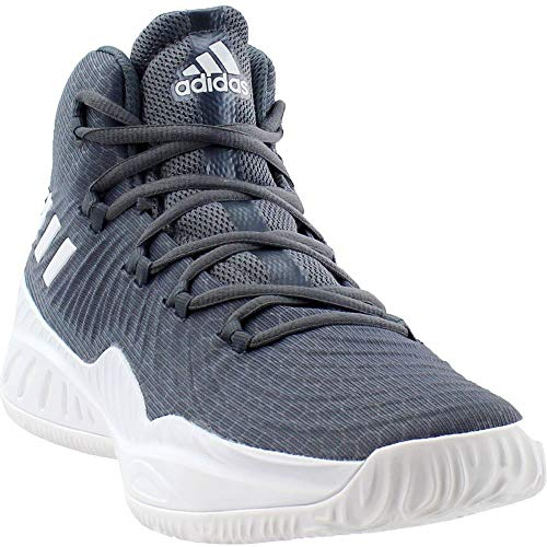 adidas Crazy Explosive 2017 Shoe - Men's Basketball 13.5 Onix/White