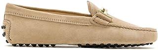Luxury Fashion | Tod's Women XXW00G0Q499RE09993 Beige Suede Loafers | Spring-summer 20