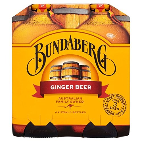Bundaberg - Ginger Soda - Multipack of 4 - 375ml