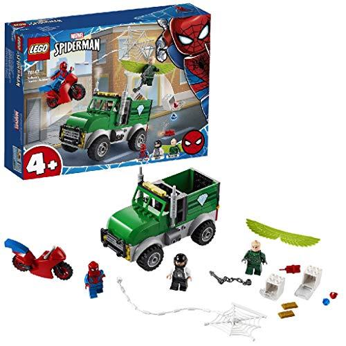 LEGO Super-Héros Marvel, Spider-Man L'attaque du Vautour, Set de jeu...