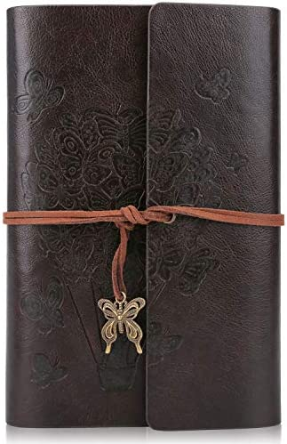 PU Leather Journal Notebook Ruled Refillable Notebook Writing Journal With Spiral Diary Sketchbook product image