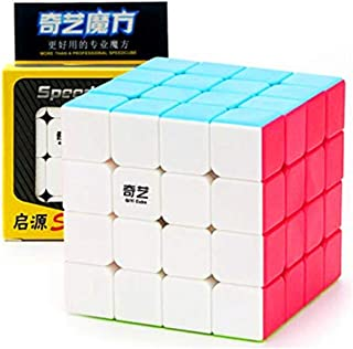 CuberSpeed QiYi Qiyuan S 4x4 Stickerless Bright Magic cube MoFangGe MFG Qiyuan S color 4X4X4 Speed cube