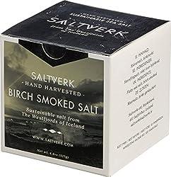 Saltverk Birch Smoked Salt - Meersalzflocken geräuchert mit isländischer Birke