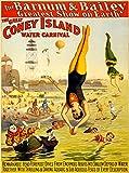 Eliteprint Klassisches Vintage-Poster Zirkus 2. 'Barnum &