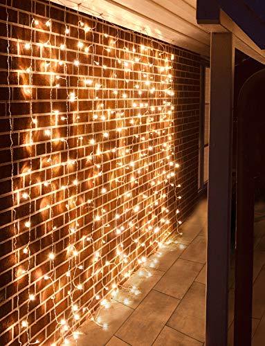 Lichterkette LED Lichterkette Aussenleuchten Weihnachtsbeleuchtung - Pure Living Premium Lichterkette für Innen und Außen [Energieklasse A++]