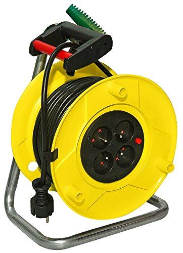 Brennenstuhl 1323721 Rol'Up Enrollador de cable eléctrico estándar (30 m, H05VV-F, 3G1,5)