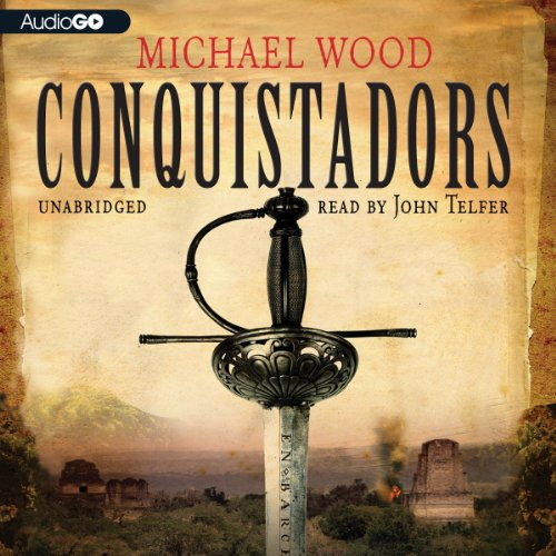 Conquistadors audiobook cover art