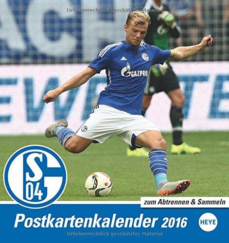 Schalke 04 Sammelkartenkalender 2016