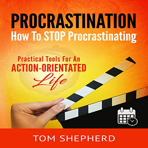 How to Stop Procrastinating audiobook cover art