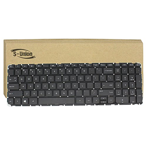 Generic New Black Laptop US Keyboard for HP home 15-r015dx 15-r017dx 15-r018dx 15-r024nr 15-G010NR 15-G011CA 15-G013CL Series Part Number V140502AS1 PK1314D2A00 SPS-749658001
