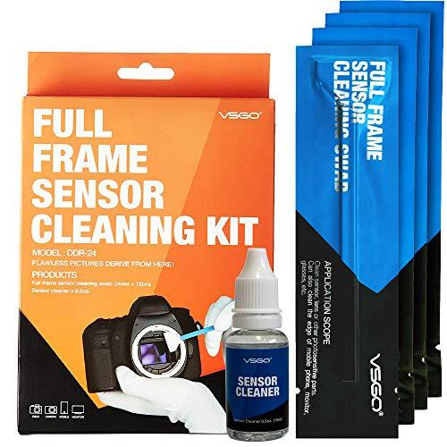 VSGO カメラクリーニング用品 フルフレームセンサースワブ+センサークリーニング液セット DDR-24