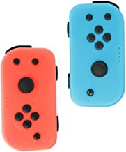 Switch Controllers CHASDI for Nintendo Switch. Pair of Remote Motion Controllers with USB Type-C Charging Cable & JoyCon Alternative L & R (Red & Blue)