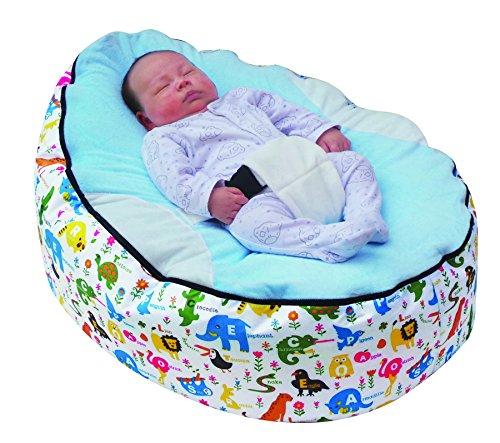 MamaBabaBebe® Baby-Sitzsack mit Füllung