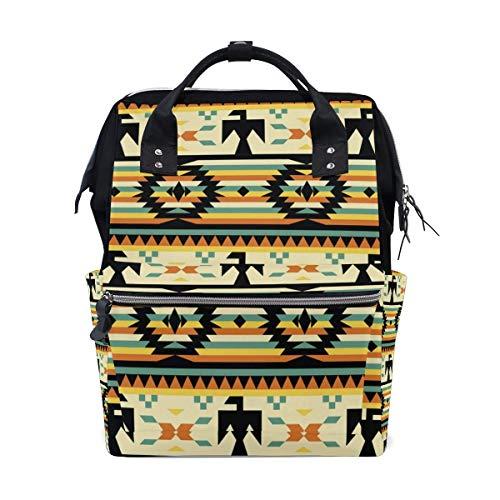 Colorful Cartoon Bows School Backpack Large Capacity Mummy Bags Laptop Handbag Casual Travel Rucksack Satchel for Women Men Adult Teen Children