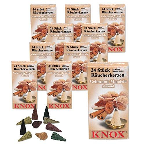 Knox 10 Päckchen Räucherkerzen - Zimt