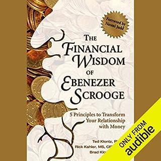 The Financial Wisdom of Ebenezer Scrooge audiobook cover art