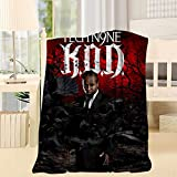 Cdsfud Te-ch N9ne KOD 3D Print Artwork Throw Blanket Twin Light Weight Super Soft Microfiber Blanket Throw Plush for Bed Couch and Living Room Throw 40X50inch