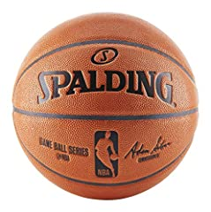 Official NBA size and weight: Size 7, 29.5 inches Performance composite cover Shipped inflated and game ready Designed for indoor and outdoor play