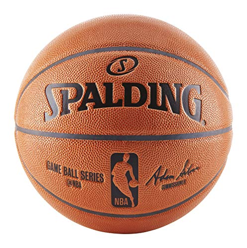 Spalding NBA Indoor/Outdoor Replica Game Ball by Spalding