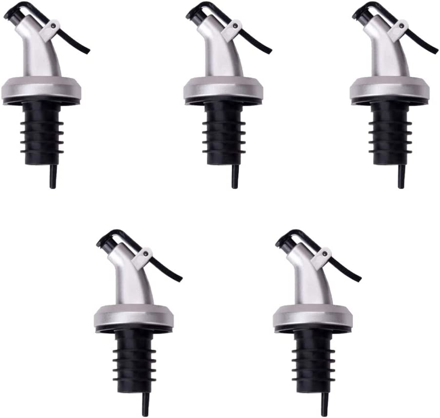 Hemoton 15PCS Stainless Steel Bottle latest Ranking TOP15 Spout Liquo Tapered Pourers