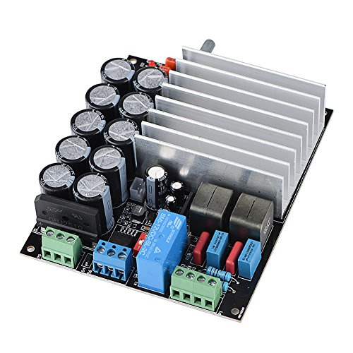 Tosuny TDA8954 audioversterker Dual AC16V - AC28V digitale eindversterkerkaart 210W + 210W klasse-D versterkerkaart tweekanaals stereogeluid