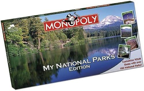 ventas de salida My National Parks Parks Parks Monopoly by USAopoly  marca en liquidación de venta