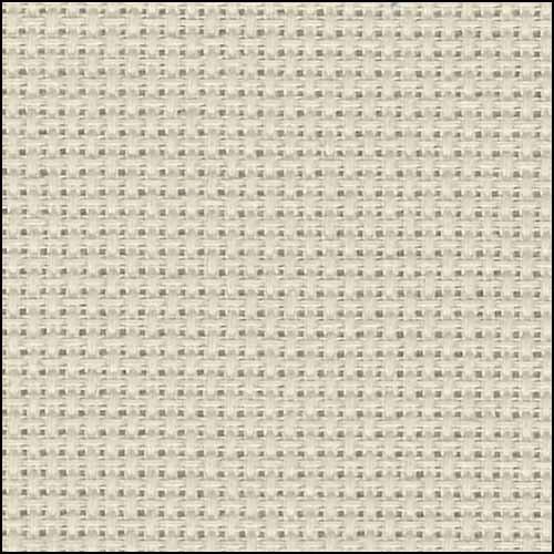 """Zweigart 16ct Aida-18x21"""" Needlework Fabric - Platinum"""