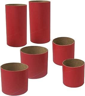 Estes Rockets 3177 BT55, BT60 Body Tube Couplers, for Model Rockets, (6Piece)