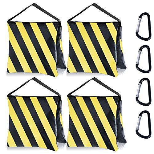 MASTERCANOPY Tripod Weight Bag Heavy Duty Sand Bag for Photo Studio,Yellow