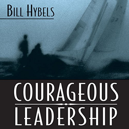 Courageous Leadership audiobook cover art