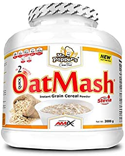 AMIX OATMASH - MR POPPERS (2 KGS) - CHOCO BLANCO