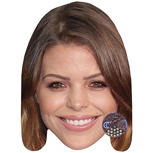 Celebrity Cutouts Chloe Lewis Maske aus Karton