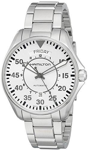 Hamilton Analogico Automatico Orologio da Polso H64615155