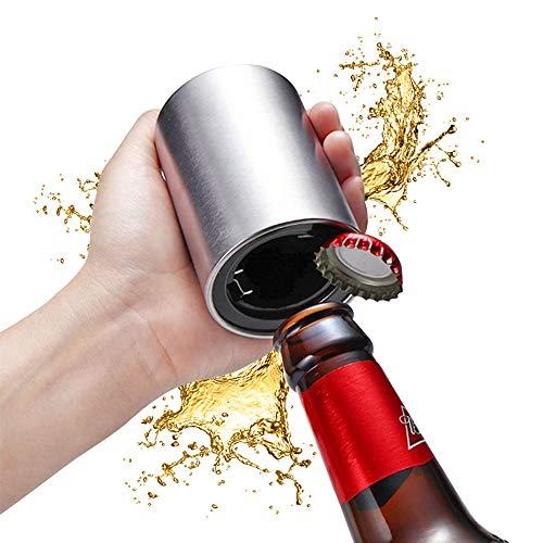 CG Magnetic Automatic Flaschenöffner, Fast Bier-Wein-Push-Down-Öffner-Stab-Küche-Stab-Werkzeuge Mithelfer