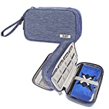 BUBM Double Compartment Storage Case Compatible with 3DS/3DS XL/New 2DS XL, Protective Carrying Bag, Portable...