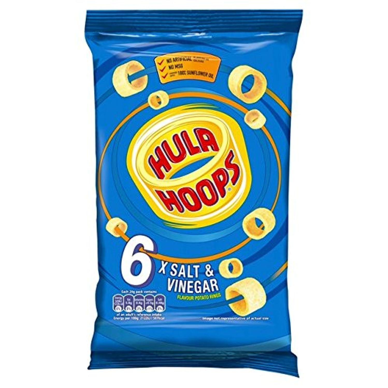 KP Hula Hoops Salt and Vinegar 6 Pack Pack of 2
